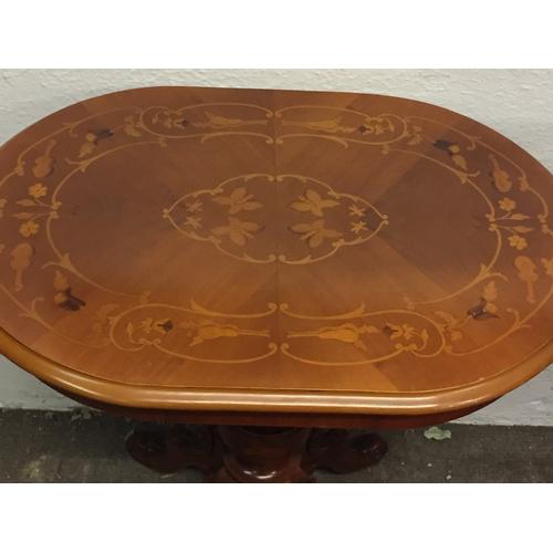 14 - Inlaid Table 70 x 50 x 69 cms...