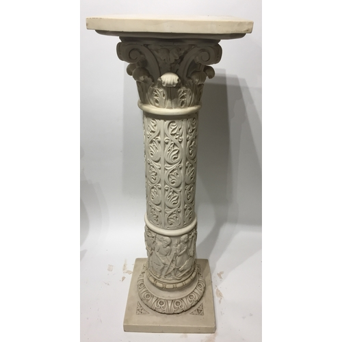 18 - Nice Quality Neo Classical Column Stand 73 cms High...