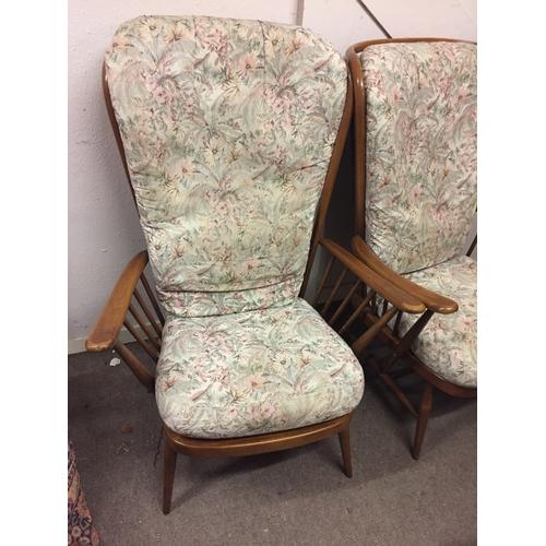 9 - 2 X Ercol Chairs...