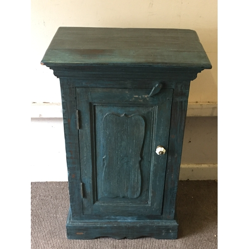 30 - Similar To Previous Lot Hard Wood Painted Cupboard Unit 84 x 53 x 36 cms...