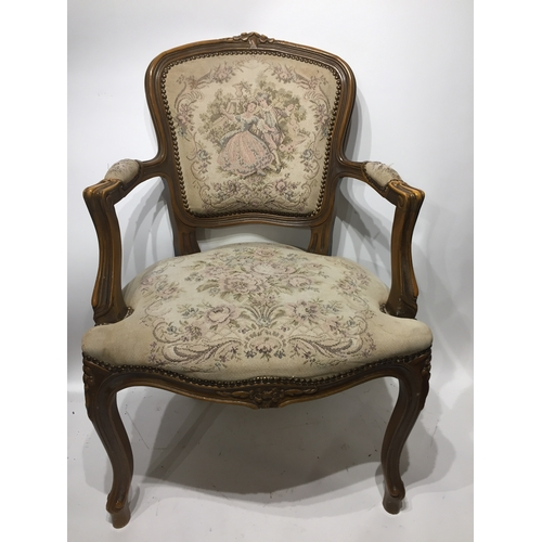 36a - French Louise Style Chair ....