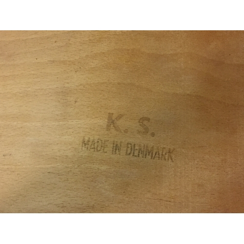 19 - Skovby Danish Made Rosewood Dining Table And 6 Chairs...