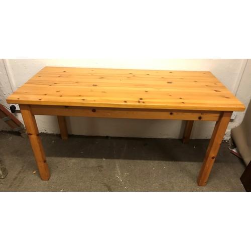 33 - Pine Farmhouse  Table 153 x 77 x 76 cms...
