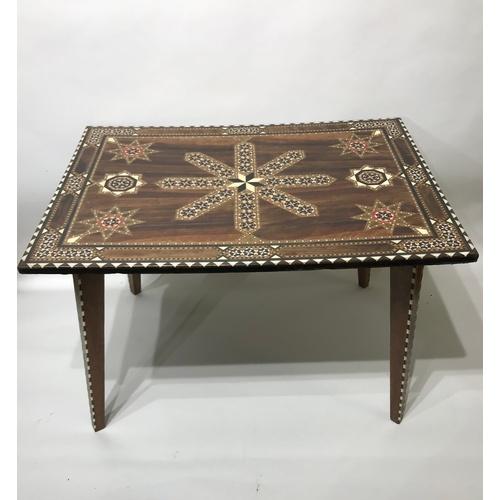 21 - Inlaid Table 68 x 49 x 47...