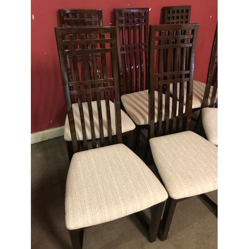 31 - Harveys Naples Range 6 X Dining Chairs...