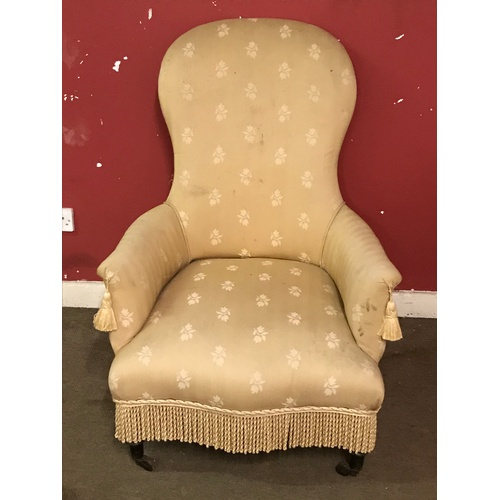 46 - Upholstered Chair...