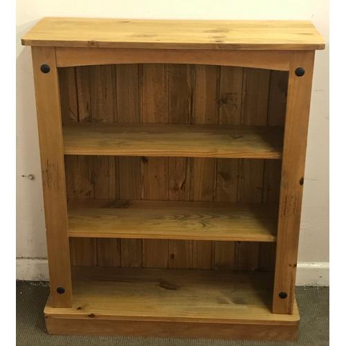 4 - Pine Bookshelf 100 x 83 x 29 cms...