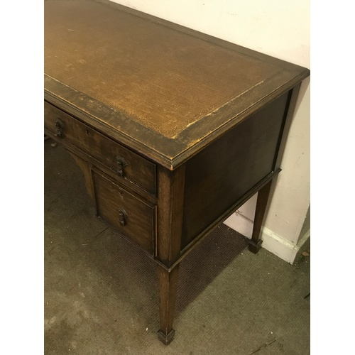 25 - Vintage Desk With Drawers 108 x 62 x 78 cms...