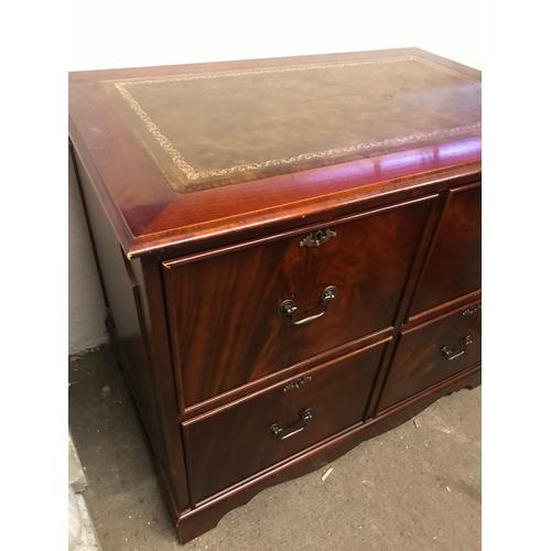 50 - Antique Style Filing Desk...
