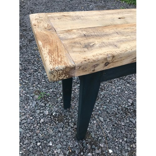36 - Pine Rustic Top  Table 168 x 45 x 85 cms...