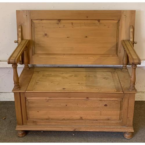 13 - Pine Monks Bench 107 x 50 x 76 cms