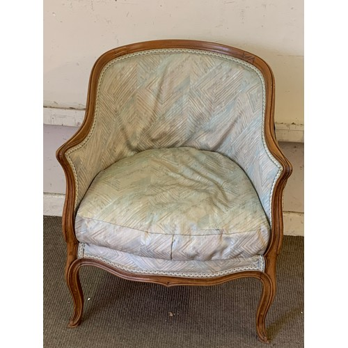 16 - Vintage French Parlor Chair