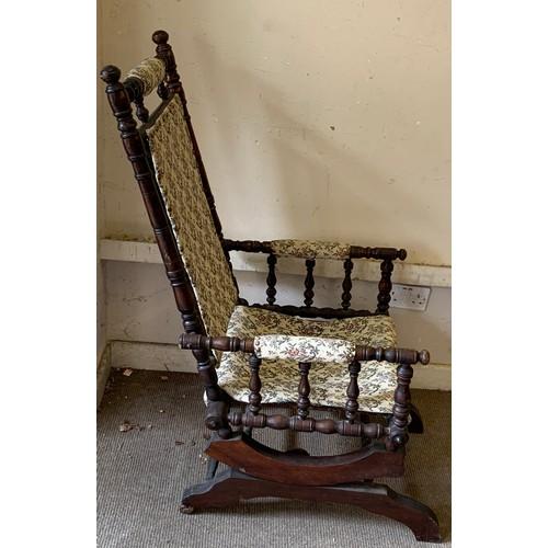 27 - Vintage American Rocking Chair.