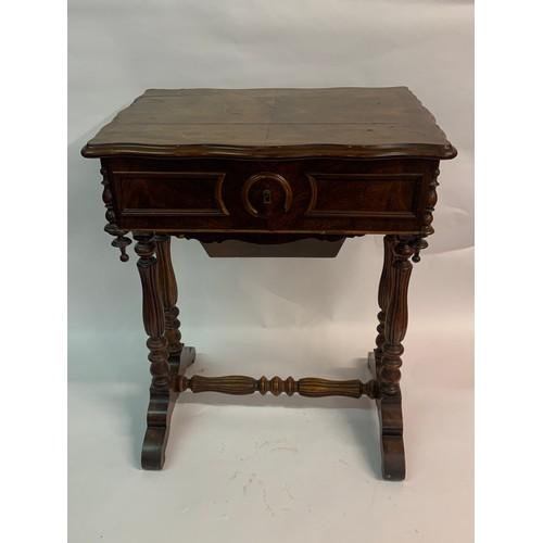 56 - Vintage Sewing Box 52 x 38 x 67 cms