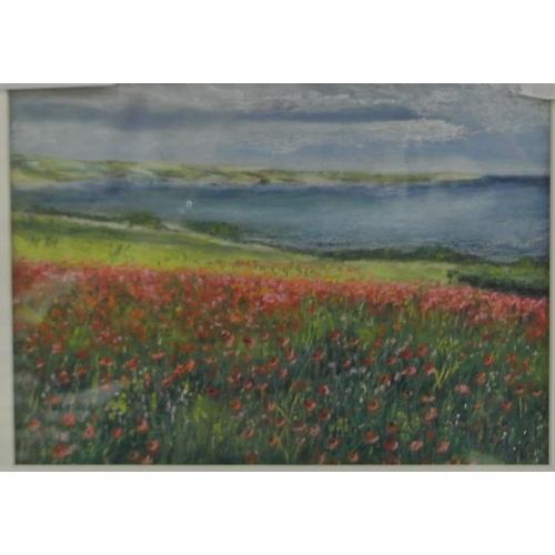 227 - Denis Keenan 'Clonakilty Bay', pastels 19 x 26 signed verso...