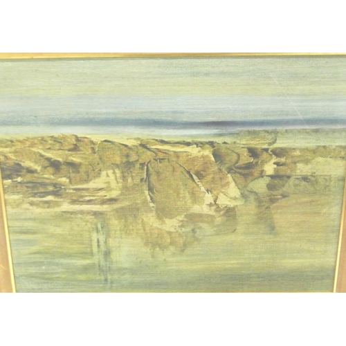 224 - Maurice Desmond  'Landscape' Acrylics 60 x 45 signed and dated 1995...