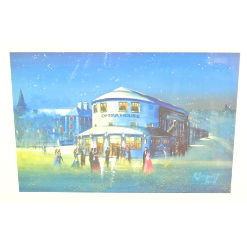 231 - Kevin Sanquest  'The Old Cork Opera House'  Limited Edition print No 170...