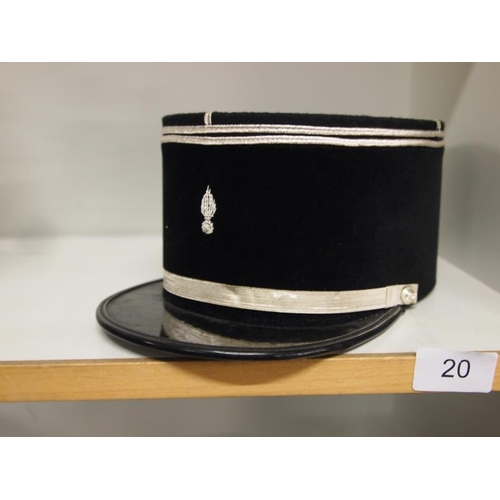 20 - A French Kepi Police officers hat...