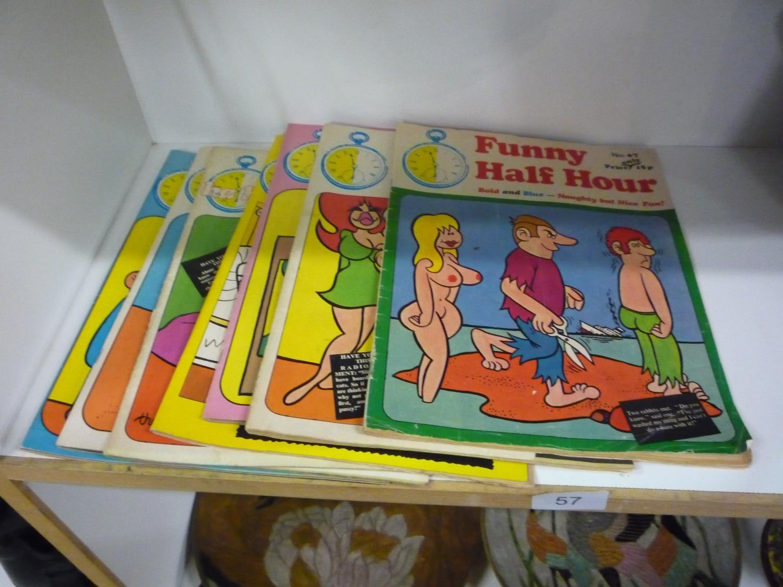 Funny Adult Comics collection of funny half hour adult comics