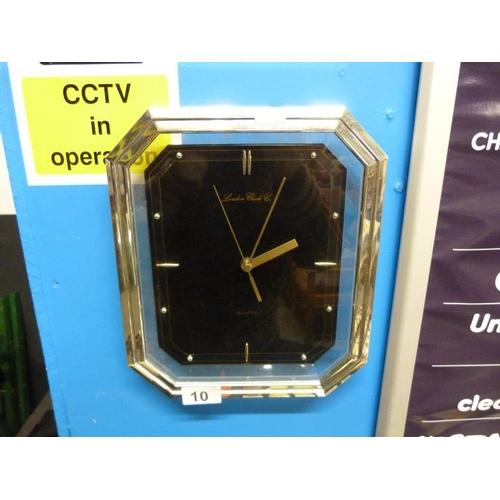 10 - London clock company wall clock...
