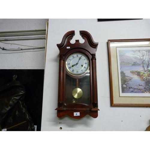 4 - Wall hanging clock...