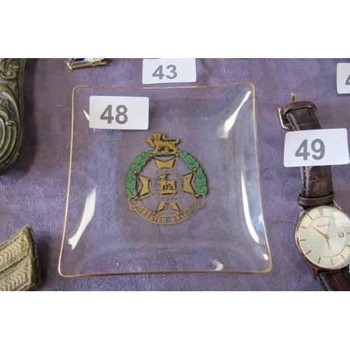 48 - Forester Brigade glass dish...