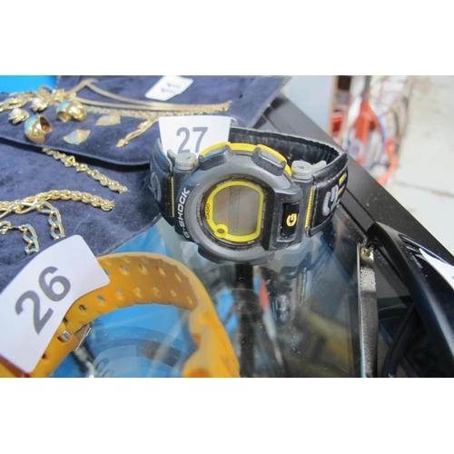 27 - Casio G-Shock watch...