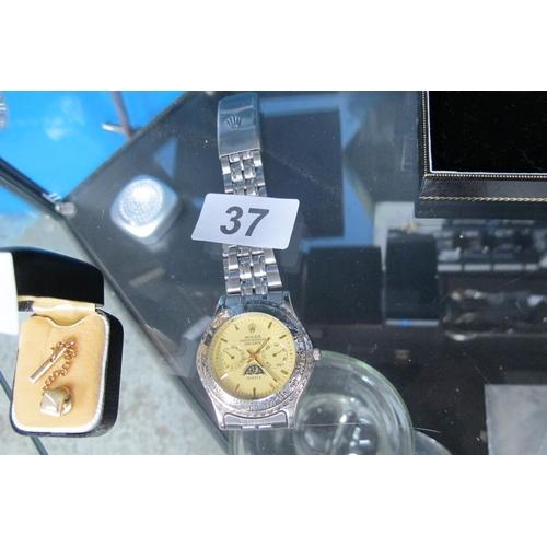 37 - Imitation Rolex watch...
