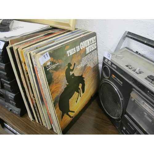 11 - Selection of LP records...