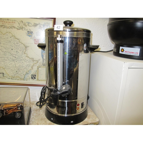 42 - Crofton catering water boiler...
