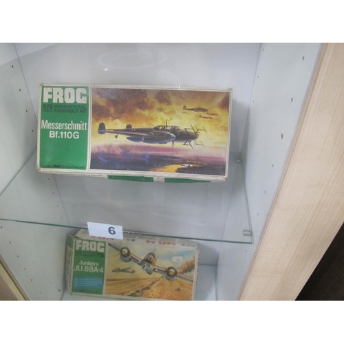 6 - FROG Messerschmitt Bf.110G 1/72 scale model complete in box...