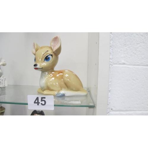 45 - A Wade Disney Bambi Blowup, 1961...
