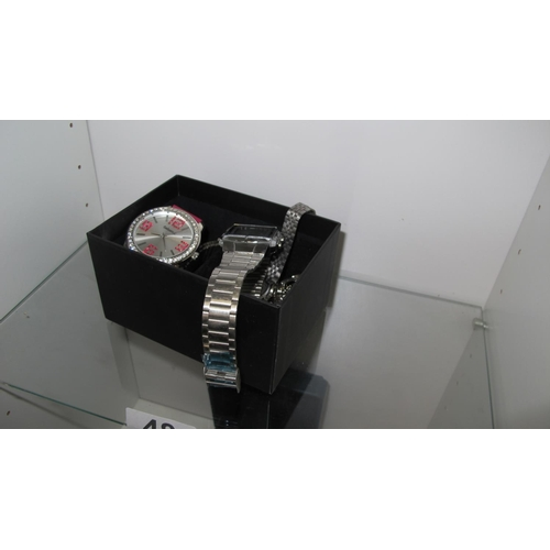 48 - A quantity of watches etc...