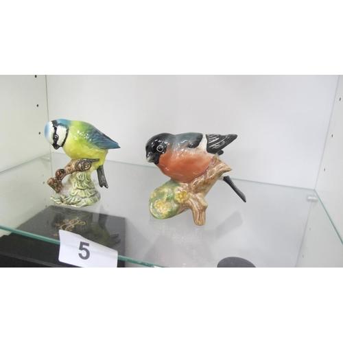 5 - 2 Beswick birds...