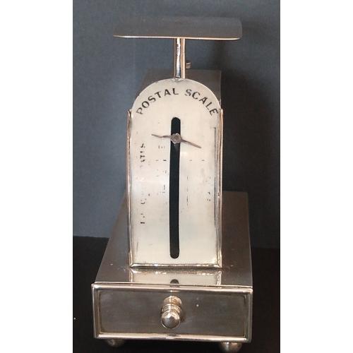9 - 1904 Hallmarked silver postal scales (Birmingham 1904, maker