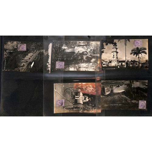 38 - Picture Postcards. 1912-28 Picture postcards of Lourenco Marques (44), Ceylon (39), Aden (9), Burma ...