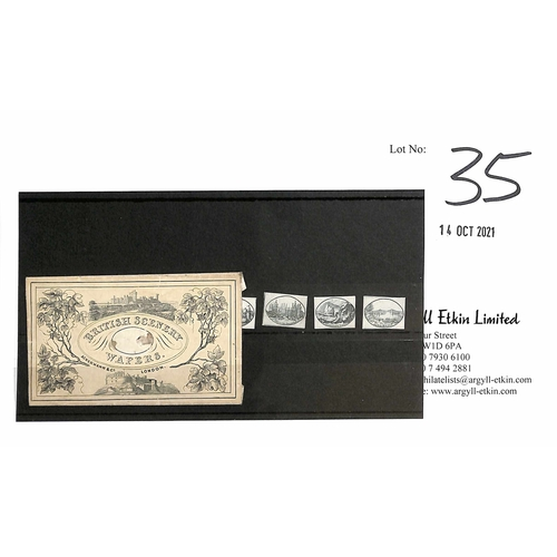 35 - c.1840 Small packet entitled