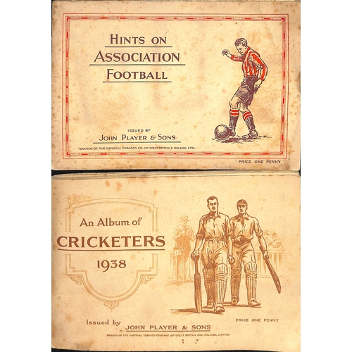 41 - Cigarette Cards. A large quantity in several albums and loose including Players, Wills, Churchmans, ...