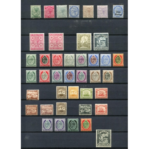 3 - Mint collection in stockbook, an attractive and useful range of material, with Cyprus incl 1894, 190...