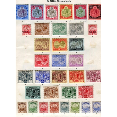 35 - 1865/1935 mint collection on printed leaves, the QV incl SG ½ 3/5, 8, 16 (trimmed wing margin at rig...