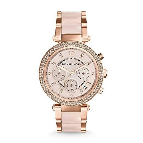 41 - BOXED BRAND NEW MICHEAL KORS WATCH, MODEL NUMBER- MK5896...