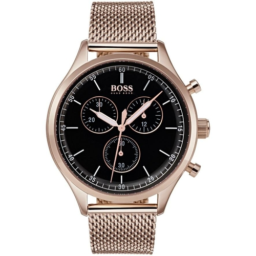 9 - BOXED BRAND NEW HUGO BOSS GENTS WATCH, MODEL NUMBER- 1513548 ***NO VAT ON THE HAMMER***...