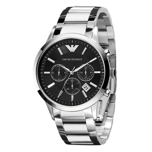 50 - BOXED BRAND NEW EMPORIO ARMANI WATCH, MODEL- AR2434 ***NO VAT ON THE HAMMER***...
