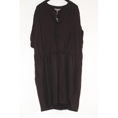 38 - LADIES BRAND NEW WITH TAGS, PRINCIPLES, BLACK UTILITY TUNIC DRESS, UK SIZE 20, RRP £35...