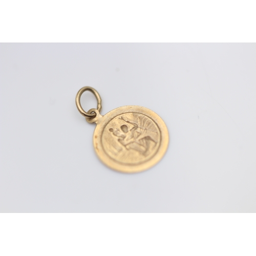 22 - 9CT YELLOW GOLD PENDENT (S22)...