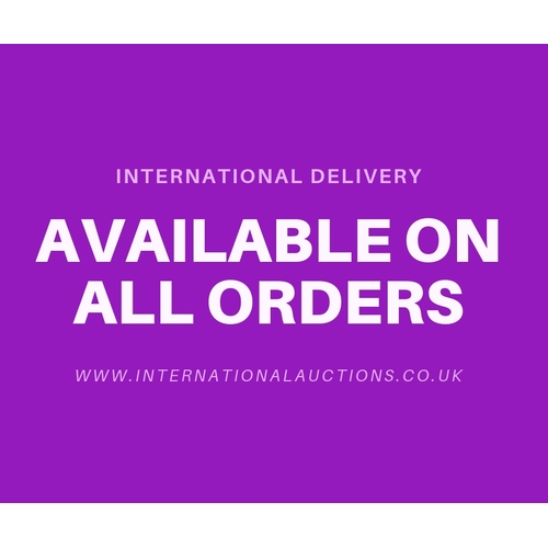 0 - New Lots Will Be Added To The Sale Daily, International Delivery Available From £5.00...
