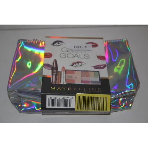 5 - GRADE U- BOXED MAYBELLINE NEW YORK GLOW GOALS SET, RRP-£17.99...