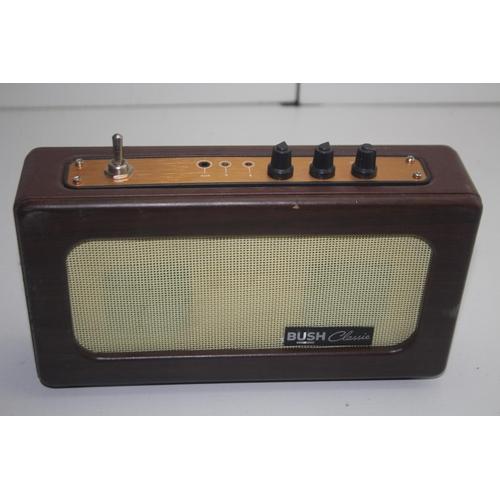 113 - GRADE U- UNBOXED BUSH CLASSIC RADIO...