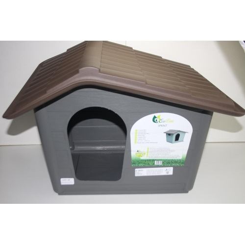85 - GRADE U- UNBOXED CROCI ECO LINE SPRINT KENNEL MINI RRP-£39.95...