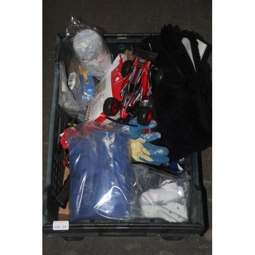 220 - GRADE U- BOX TO CONTAIN LARGE AMOUNT OF ASSORTED ITEMS (IMAGE DEPICTS STOCK)...